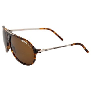 Hot/P/S 0C03 Green Havana Silver by Carrera for Unisex - 64/11/130 mm Sunglasses