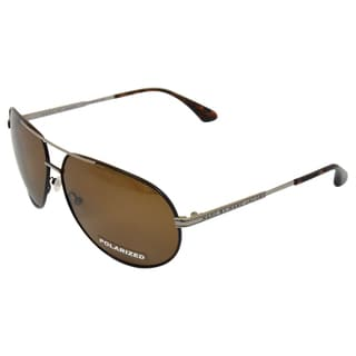 MMJ 215/P/S NCJVW Brown Ruthenium Polarized by Marc Jacobs for Men - 63-12-135 mm Sunglasses