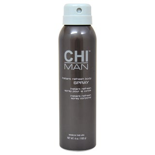 CHI Man Instant Refresh Body Spray 4-ounce Refresher