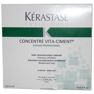 Kerastase Fusio Dose Concentre Vita Ciment 15x 0.4-ounce Treatment
