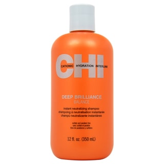 CHI Deep Brilliance Instant Neutralizing 12-ounce Shampoo