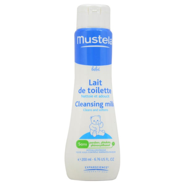 Mustela Baby 6.76-ounce Cleansing Milk