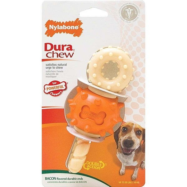 Nylabone DuraChew Revolving Double Action Dog Chew Toy