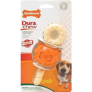 Nylabone DuraChew Revolving Double Action Dog Chew Toy (Pack of 2)