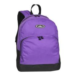 Everest Classic Backpack with Front Organizer (Set of 2) Dark Purple