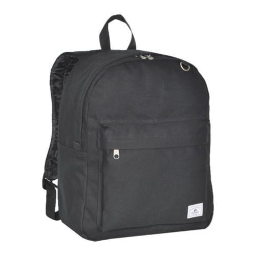 Everest Classic Laptop Canvas Backpack Black