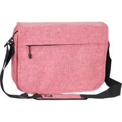 Everest Deluxe Laptop Messenger 059LT Coral