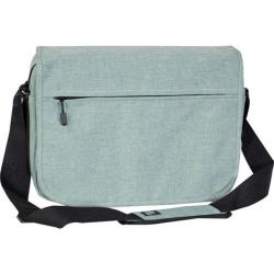 Everest Deluxe Laptop Messenger 059LT Jade