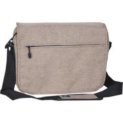 Everest Deluxe Laptop Messenger 059LT Tan