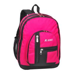 Everest Double Compartment Backpack Hot Pink