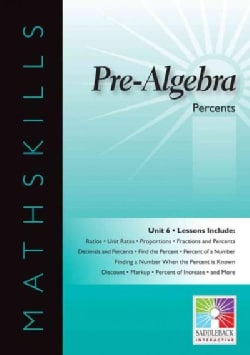 Pre-Algebra Percents (CD-ROM)