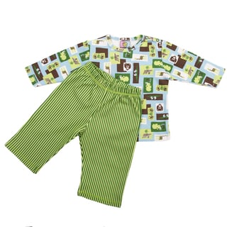 M.O.M. Designs Play Wear Set in Wild Ones