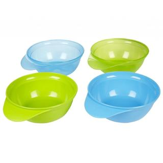 Tommee Tippee Explora Easy Scoop Blue/Green Feeding Bowls (Pack of 4)