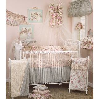 Cotton Tale Tea Party 8-piece Crib Bedding Set