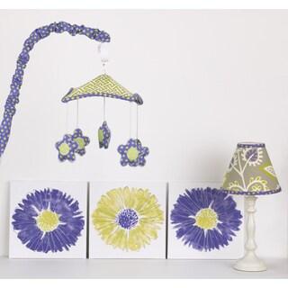 Cotton Tale Periwinkle Nursery Decor Kit