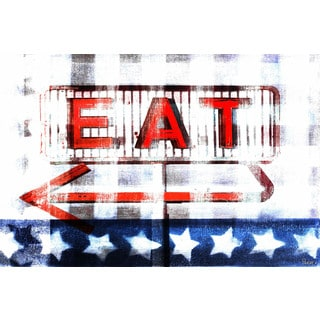 Parvez Taj 'Eat' Canvas Art