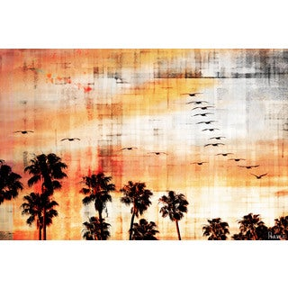 Parvez Taj 'Ocean Trails' Canvas Art