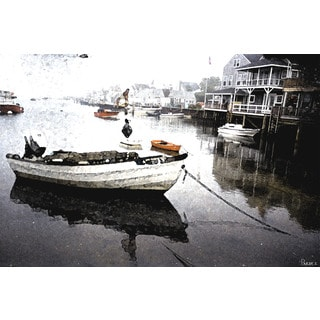 Parvez Taj 'Still Dock' Canvas Art