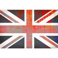 Parvez Taj 'Union Jack' Canvas Art