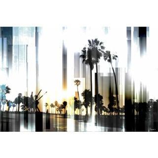 Parvez Taj 'Ocean Front' Canvas Art