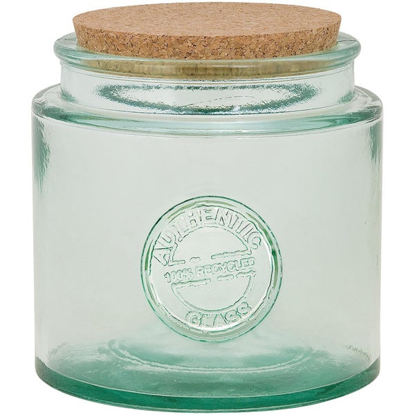 Authentic' Glassware Jar 77 ounces