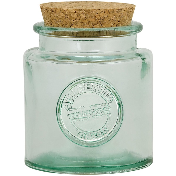 Authentic' Glassware Jar 16 ounces