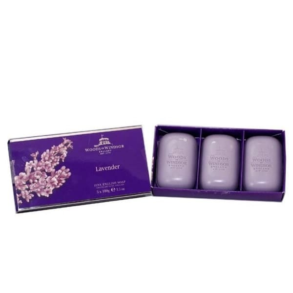 Woods Of Windsor 'Lavender' Women's Fineenglish Soap 3 X 100g