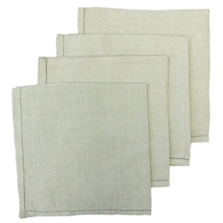 Natural Linen Napkins (Set of 4)
