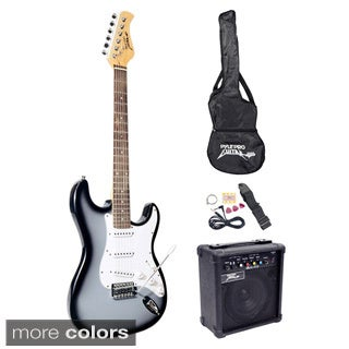 Pyle Beginner Electric Guitar Package
