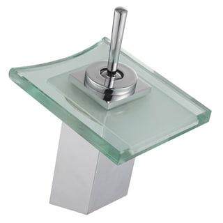 Gallery Bathroom Sink LED Waterfall Faucet