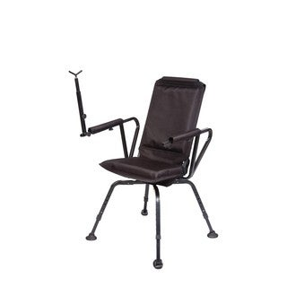Benchmaster Quiet and Comfortable Sniper Shooting and Hunting Chair with Full 360 Rotation