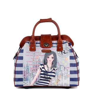 Nicole Lee Cheri 'Dolly' Carry On Rolling Laptop Tote