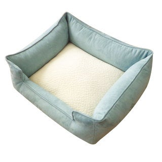 Sky Blue and White Chill Pet Bed