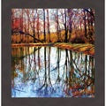 'Autumn Mosaic' Framed Print Art