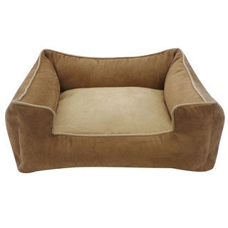Brown and Tan Chill Pet Bed