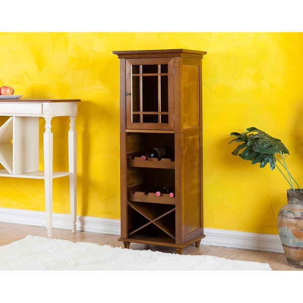 San Marcos Wine/Glass Storage Cabinet by Elegant Home Fashions