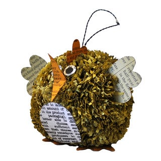 Pom Pom Chick Accent Ornament (2 pack)