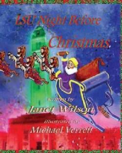 LSU Night Before Christmas (Hardcover)