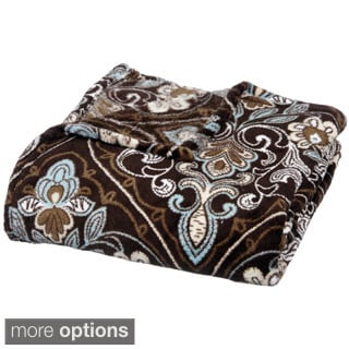 Earth Tones Micro Plush Throw