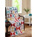 Flying Geese Cotton Quilted Throw Blanket