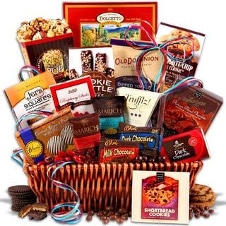Premium Chocolate Gift Basket