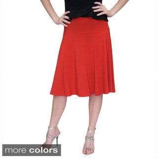 Shining Star Women's Flaired Skirt