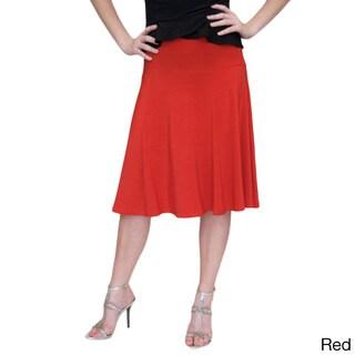 Shining Star Women's Flaired Skirt