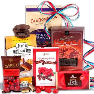 Sweet Decadence Chocolate Gift Stack