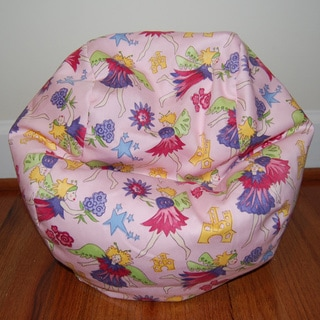 Ahh Products 14-Inch Fairy Land Cotton LiL Me Bean Bag Chair for Dolls