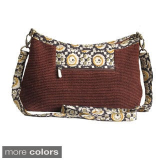 Leaf & Fiber Handmade Eco-friendly Cross Body Bag (India)