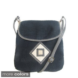 Hand-dyed Eco-Friendly Cross Body Bag (India)