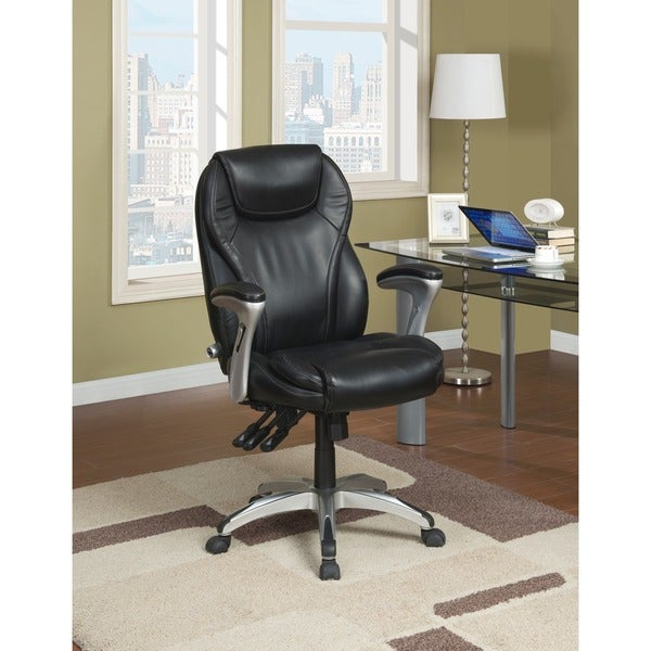Serta Ergo Executive Black Office Chair