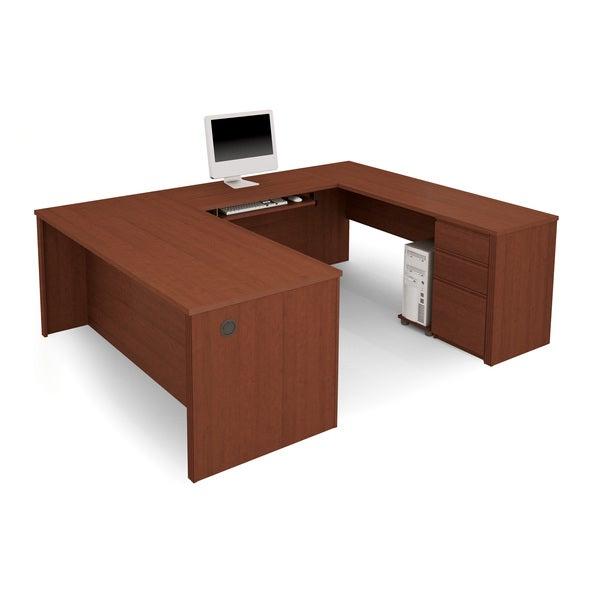 Bestar Prestige U Shaped Workstation Kit