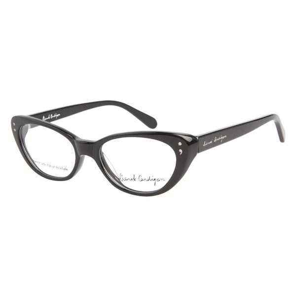 Derek Cardigan 7019 Black Prescription Eyeglasses